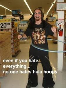 hula hoop goth